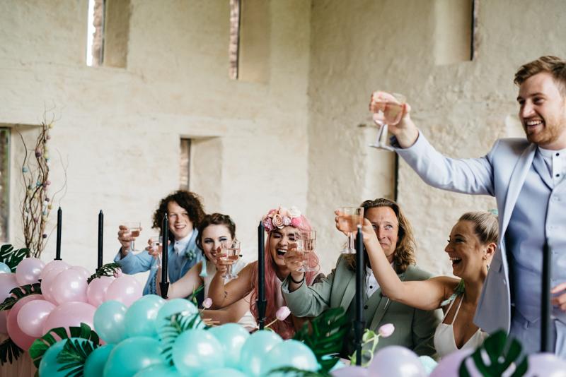Intimate Wedding Venue Hire Grendon Court Barn
