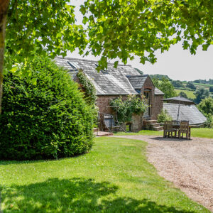 Countryside views at The Granary