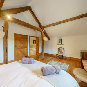 Bedroom at The Granary