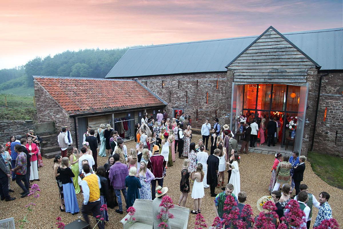 Reception barn Herefordshire