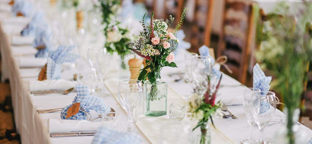 Wedding barn venue in Herefordshire