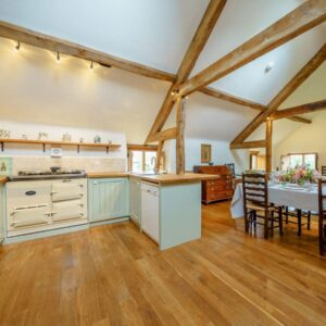 The Granary kitchen at Grendon Court