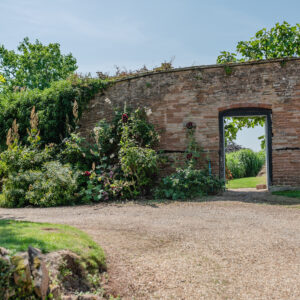 Secret garden at Grendon Court Barn