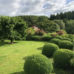 The Gardens at Grendon Court Barn Herefordshire